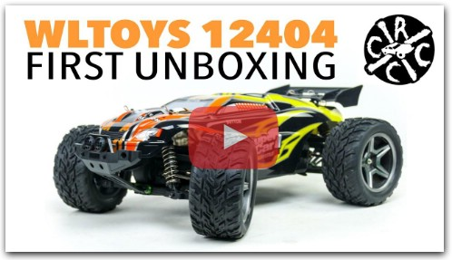 WLTOYS 12404 1/12th Scale RC Truggy Monster Truck
