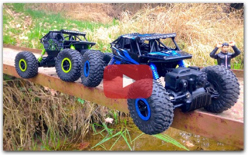 Мощь и проходимость ROCK CRAWLER RC Car 1:18 CONQUEROR 4x4 trial